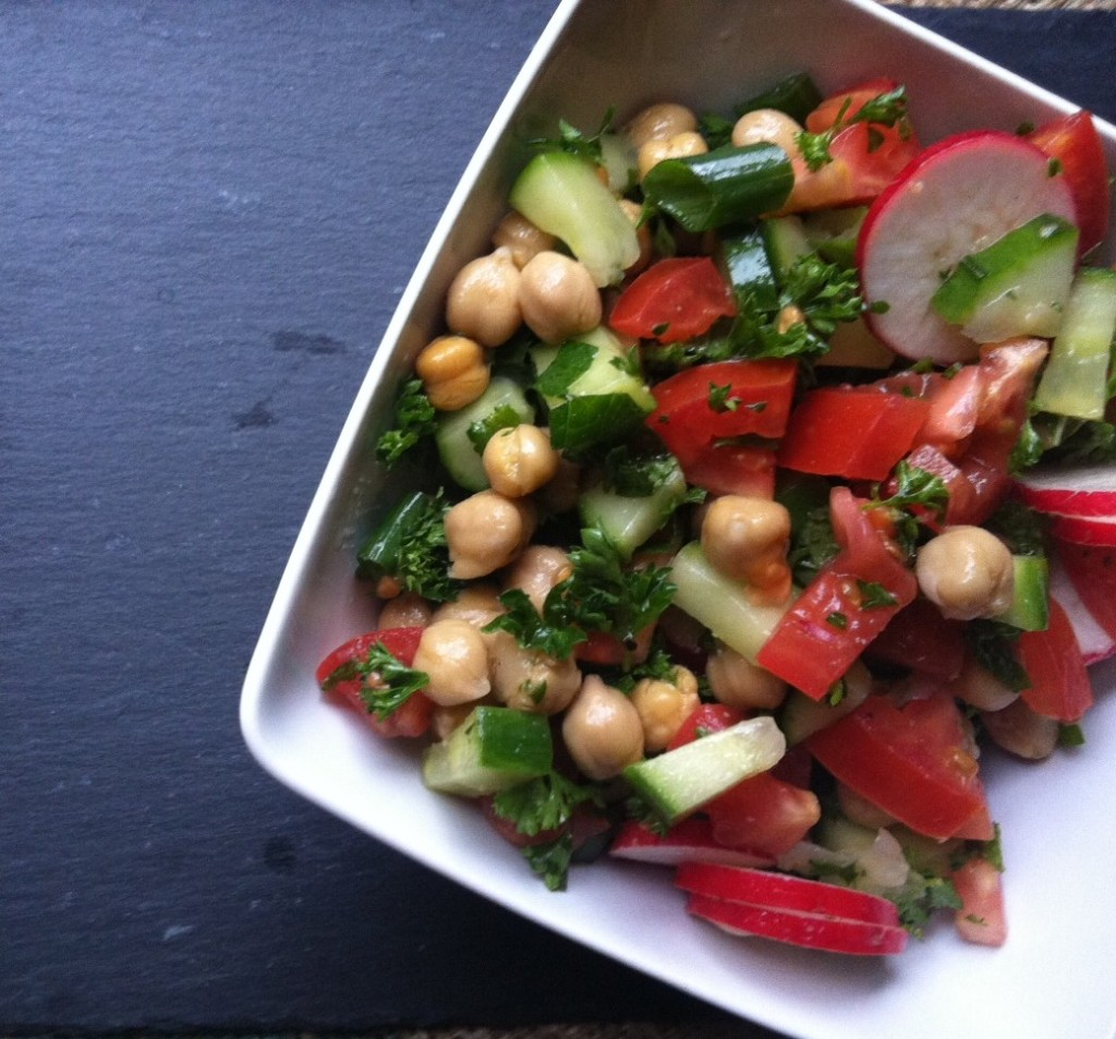 Chopped Middle Eastern Salad recipe
