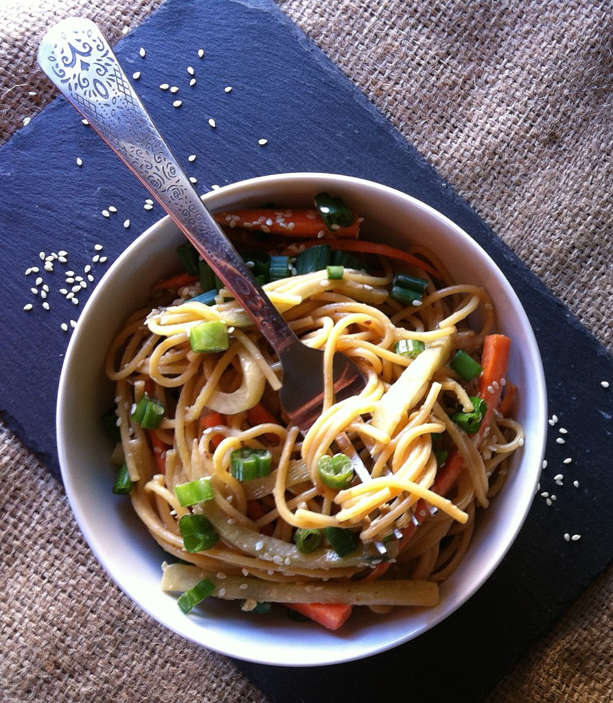 Cold Sesame Noodles - delicious!!!