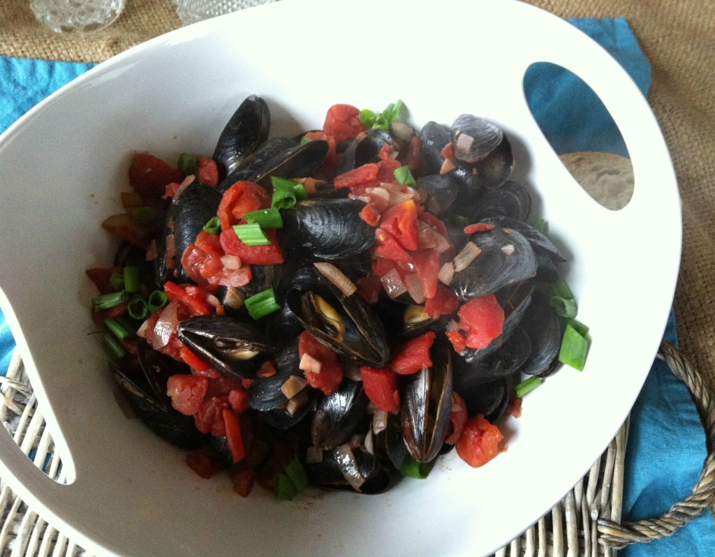 Mussels - Mussels With Smoked Spanish Paprika