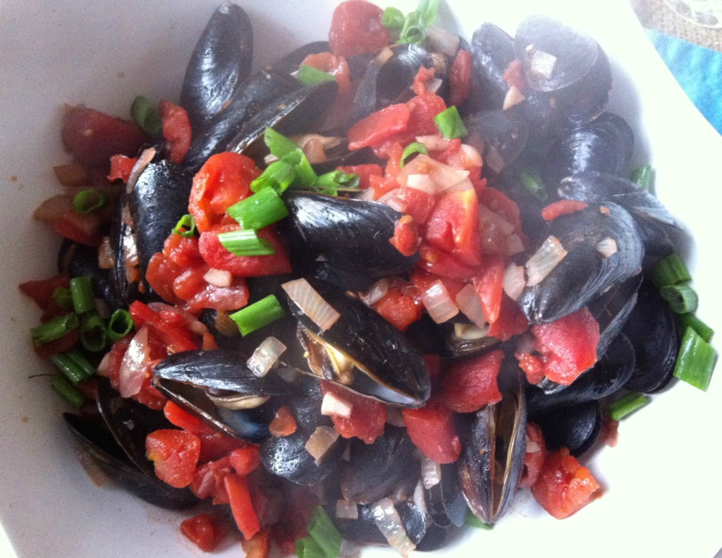 recipe for Mussels With Smoked Spanish Paprika