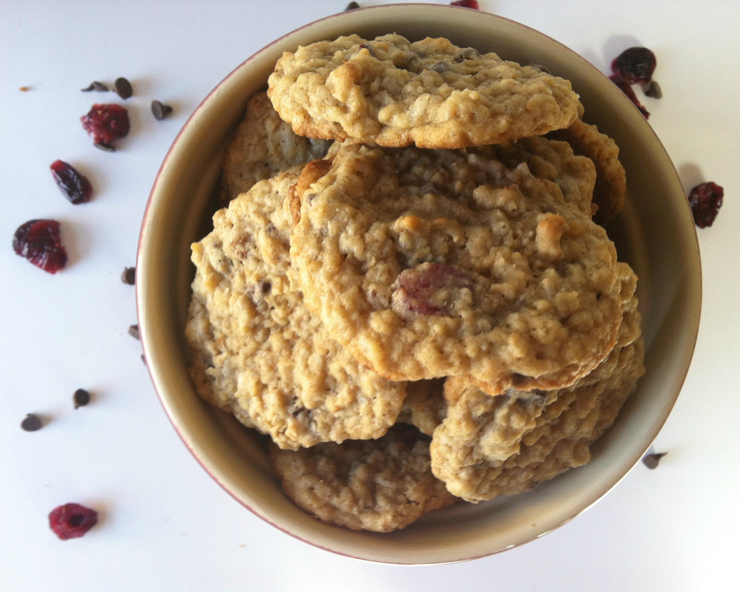 Loaded Oatmeal Cookies recipe from A Cedar Spoon