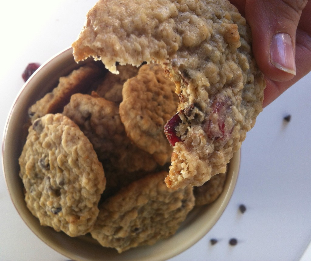 yummy Loaded Oatmeal Cookies