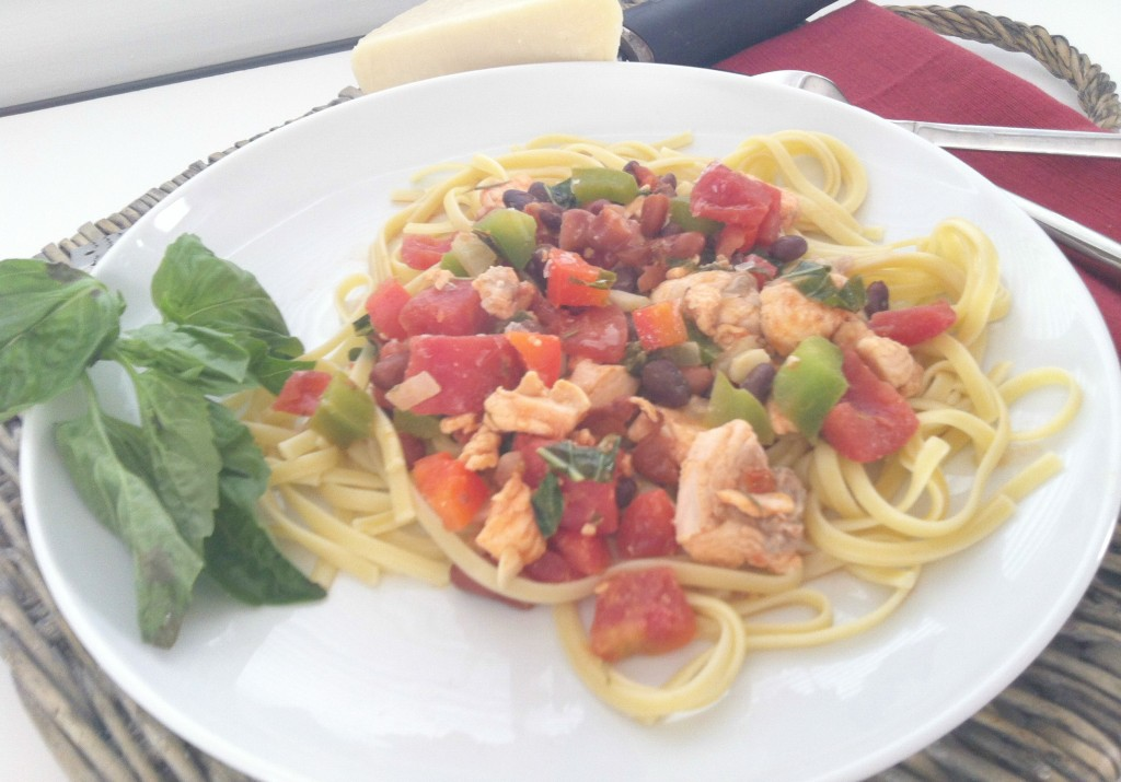Salmon Pasta - Salmon Linguine