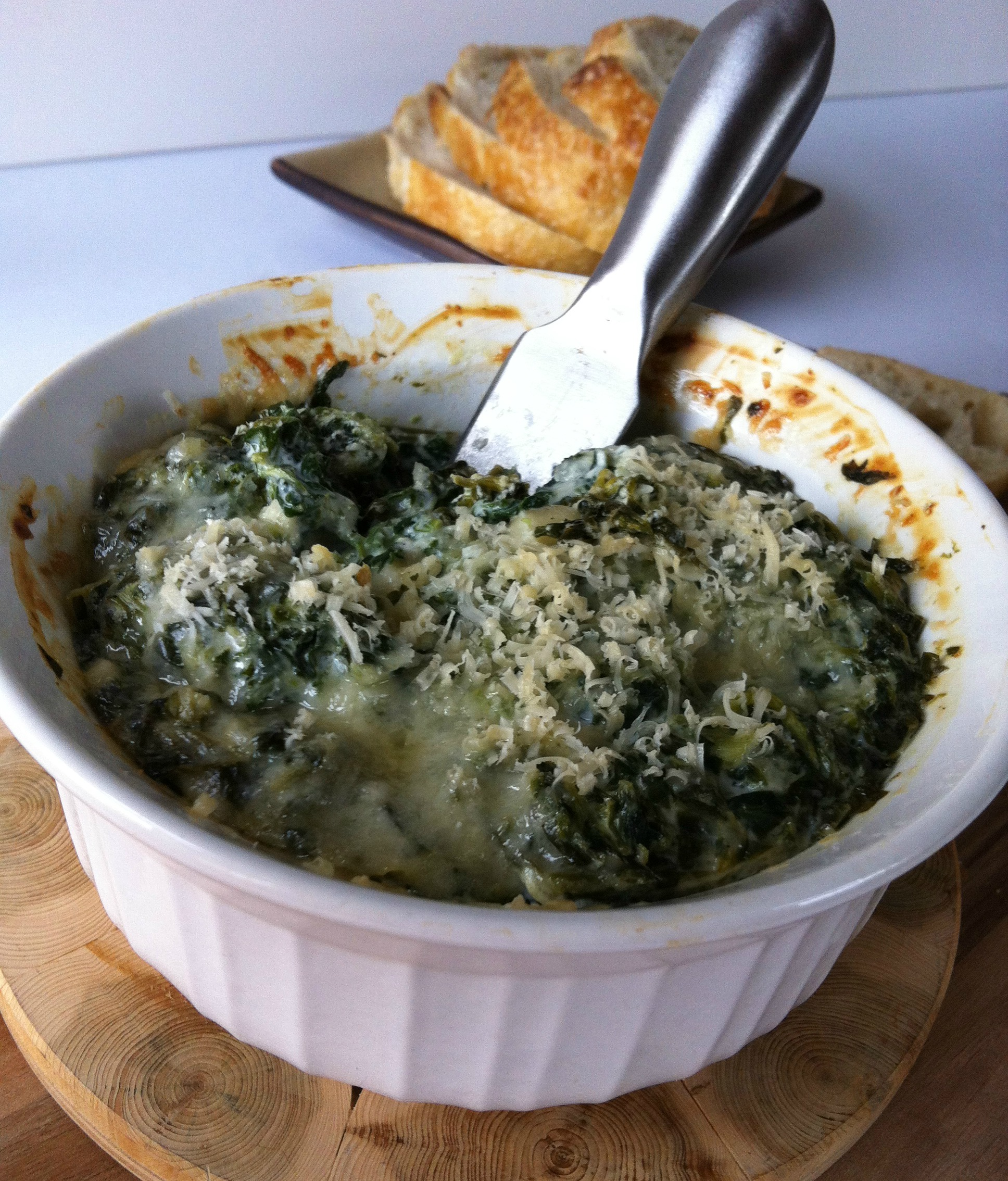 Baked Hummus And Spinach Dip Recipes — Dishmaps