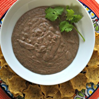 Smoky Black Bean Dip recipe from A Cedar Spoon