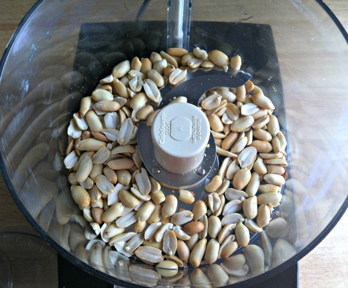 Peanuts to grind for Homemade Peanut Butter Recipe