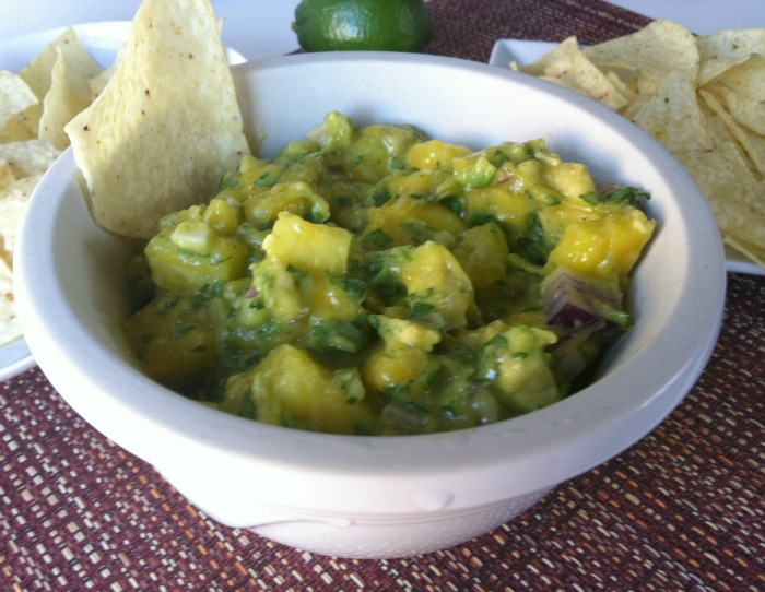 delicious Pineapple Mango Guacamole