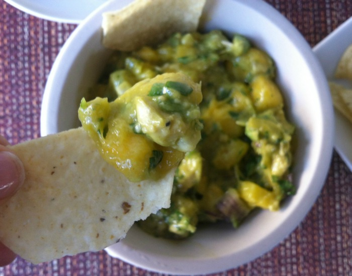 Pineapple Mango Guacamole Recipe