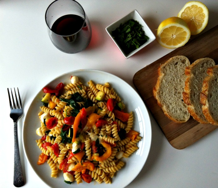 delicious Roasted Red Pepper Pasta