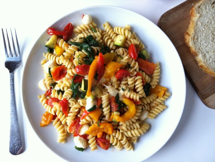 Roasted Red Pepper Pasta recipe