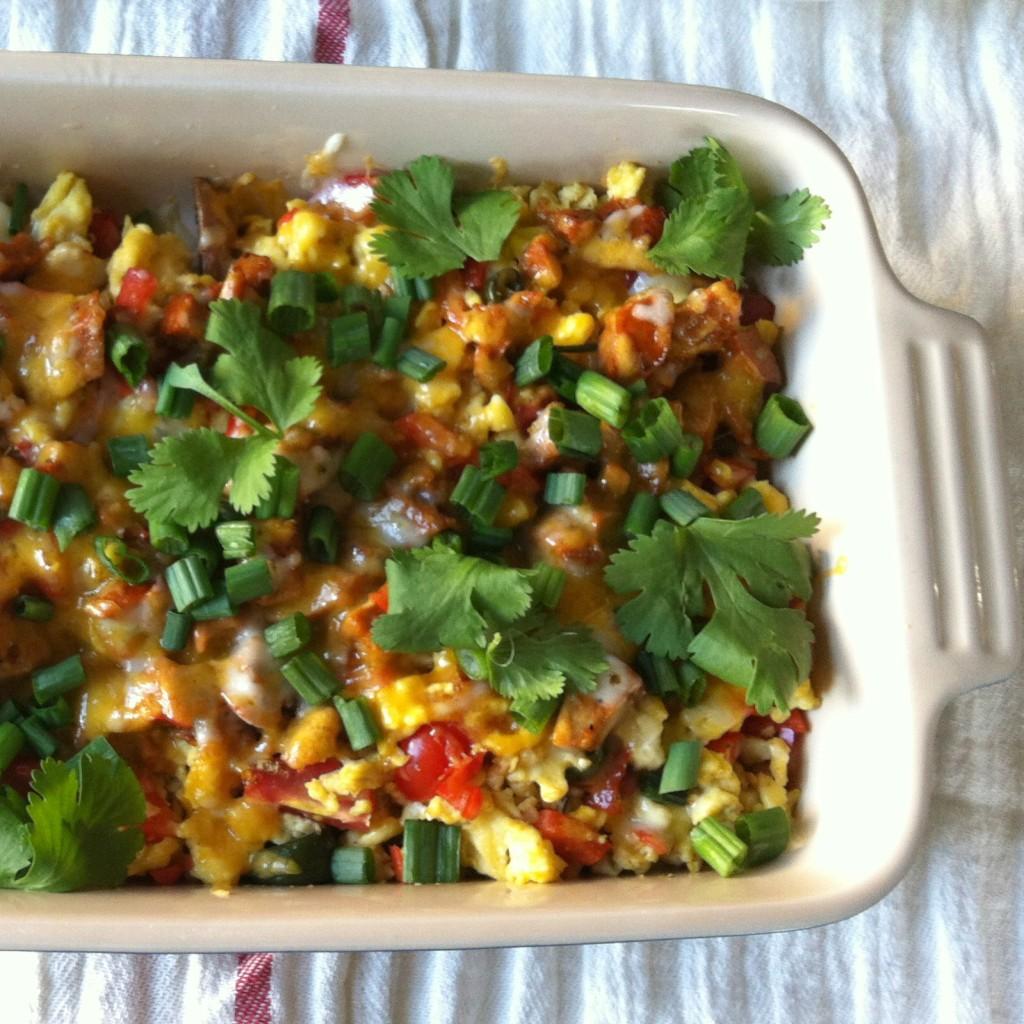 Southwestern Egg Casserole Recipe — Dishmaps
