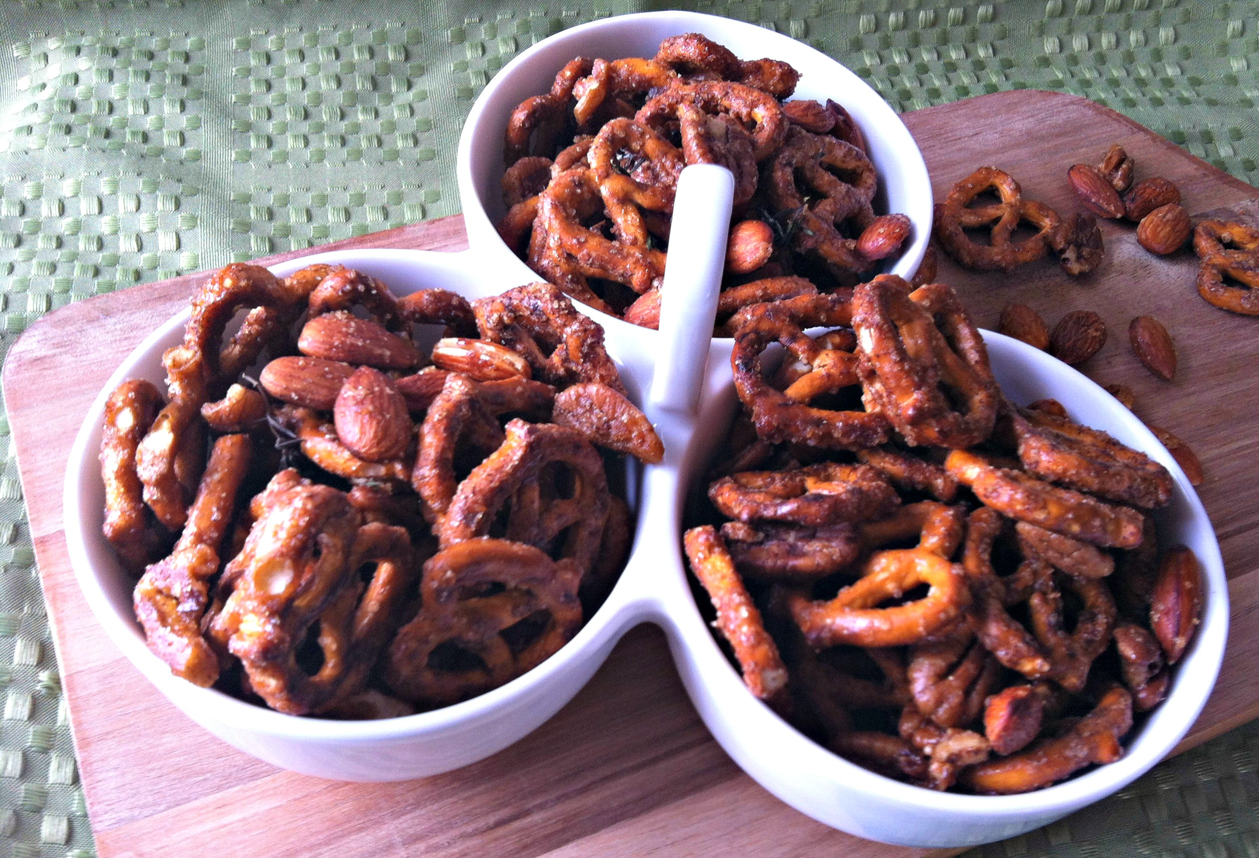 Sweet and Spicy Pretzels - A Cedar Spoon