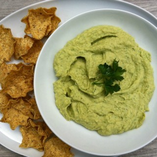 Avocado Hummus recipe from A Cedar Spoon