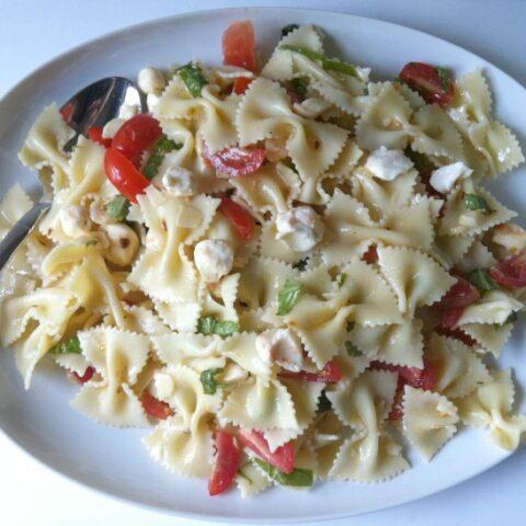 Caprese Pasta Salad from A Cedar Spoon