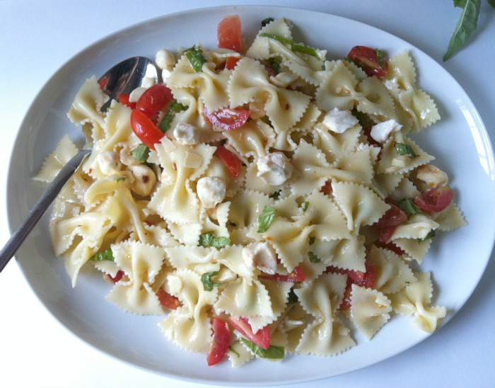 Caprese Pasta Salad from A Cedar Spoon