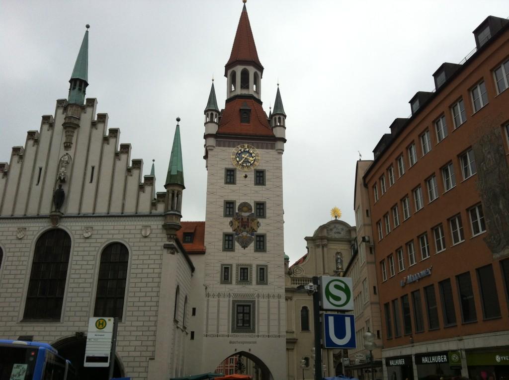 shot of Munich, Germany