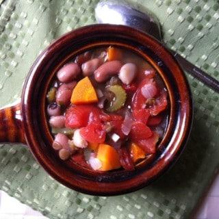 15 Bean Soup recipe from A Cedar Spoon