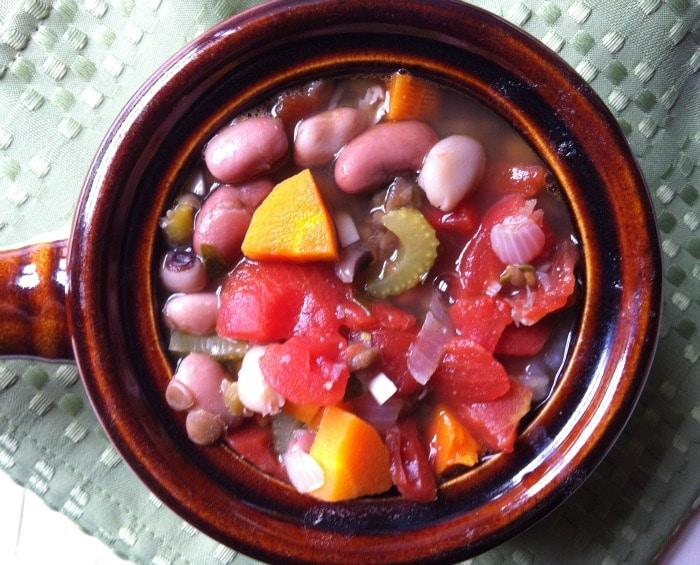 bowl of 15 bean soup