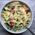 Summer Orzo Pasta Salad recipe from A Cedar Spoon