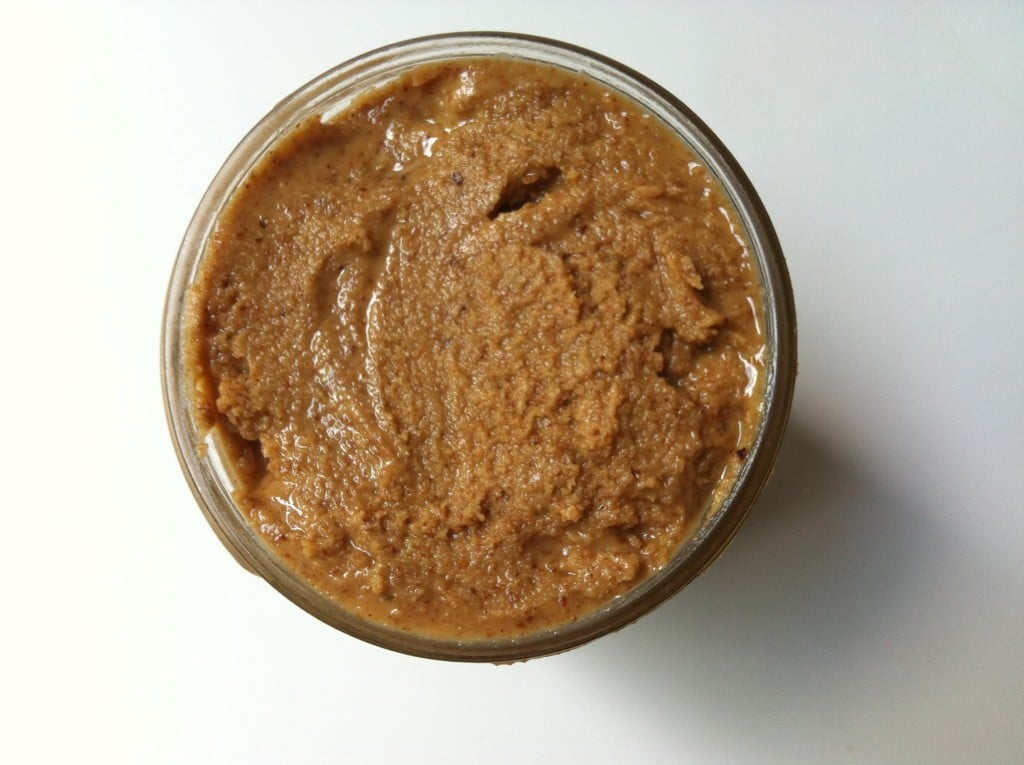 jar of almond butter - How to Make Almond Butter