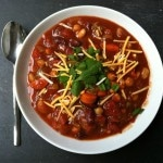 Three Bean Fire Roasted Chili recipe