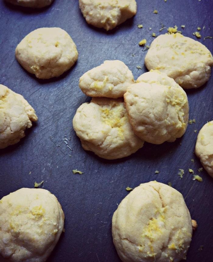 Lemon Glazed Cookies - A Cedar Spoon