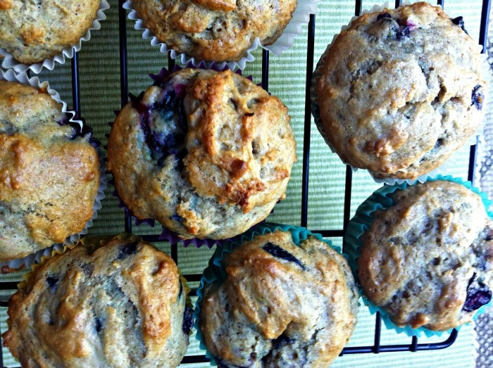Cinnamon Yogurt Blueberry Muffins Recipe - A Cedar Spoon