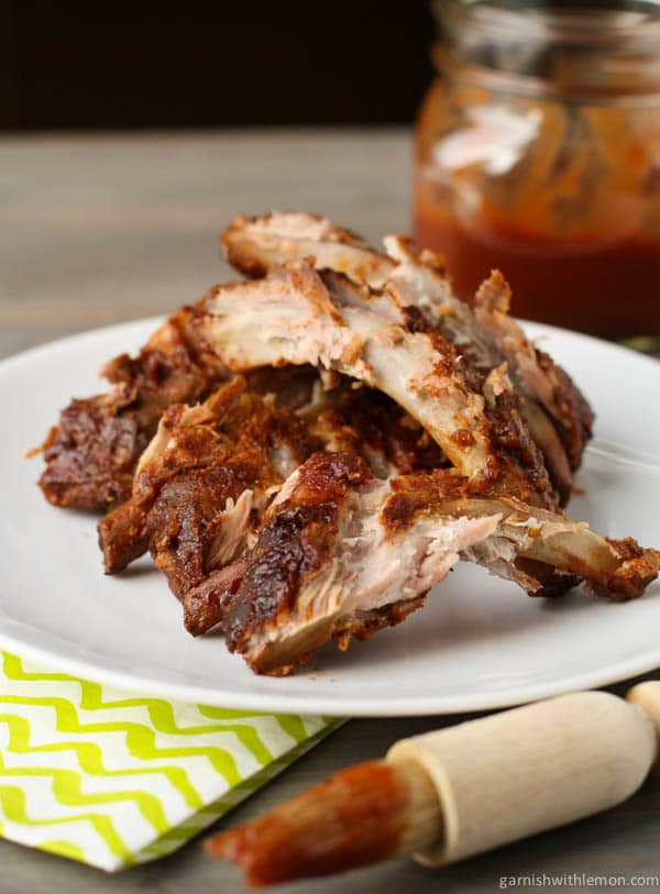 Ribs - 35 Back to School Crockpot Recipes