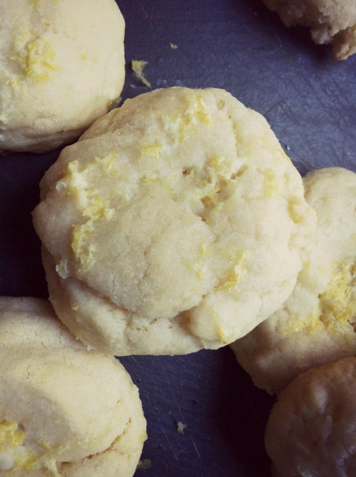 Lemon Glazed Cookies from A Cedar Spoon