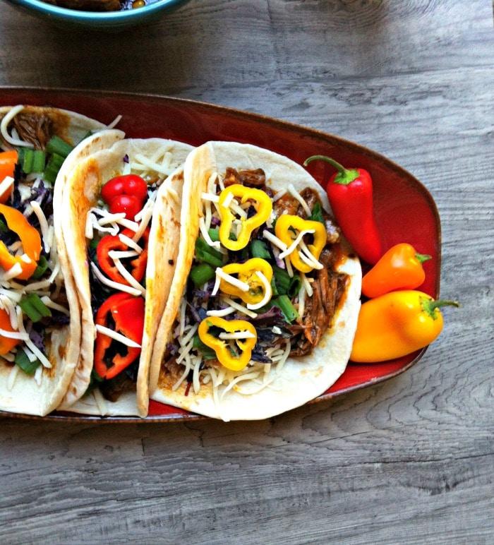 Crockpot tacos