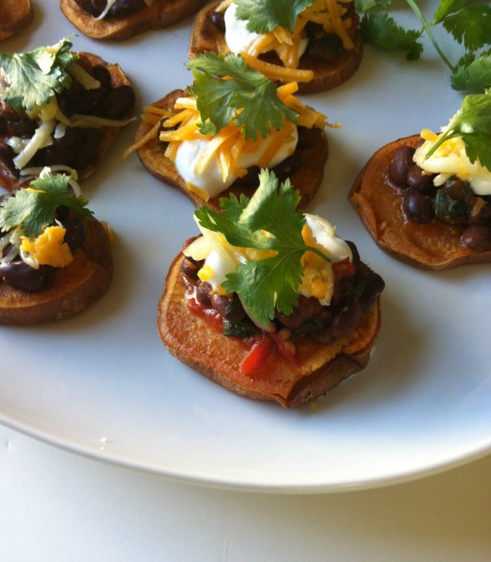 Southwestern Sweet Potato Rounds appetizer