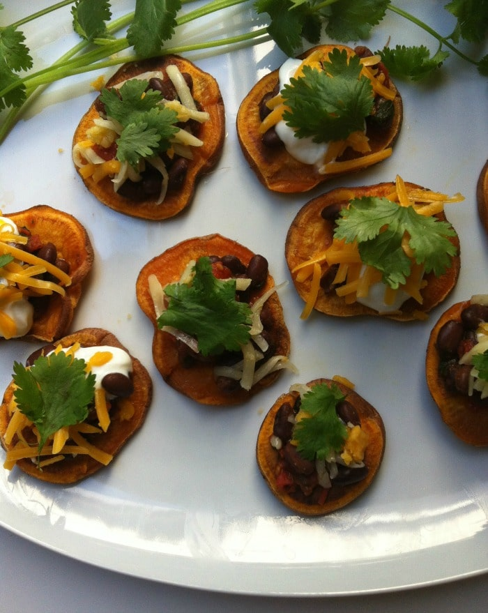 Southwestern Sweet Potato Rounds Recipe from A Cedar Spoon