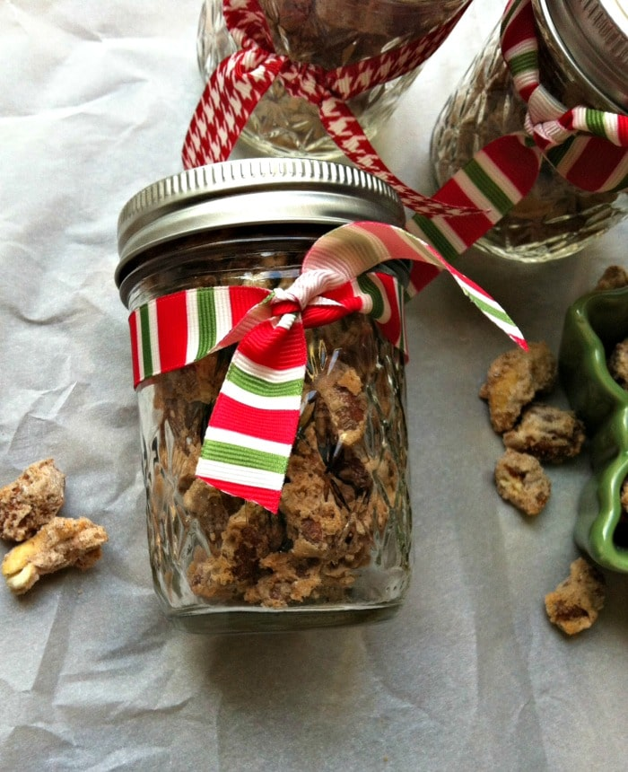 Candied Cinnamon and Sugar Nut Mix