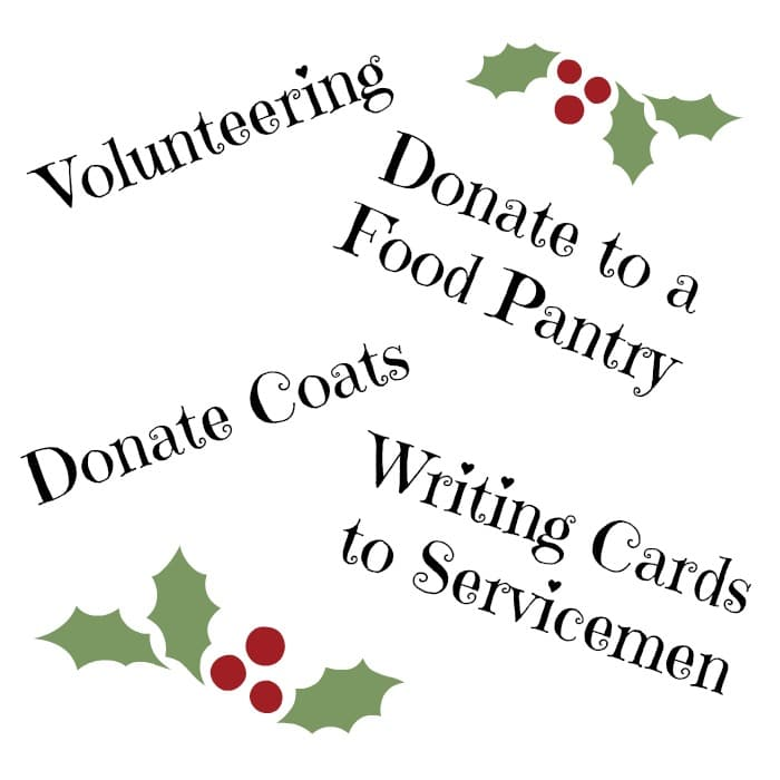 20 Ways to Give Back This Holiday Season - ideas