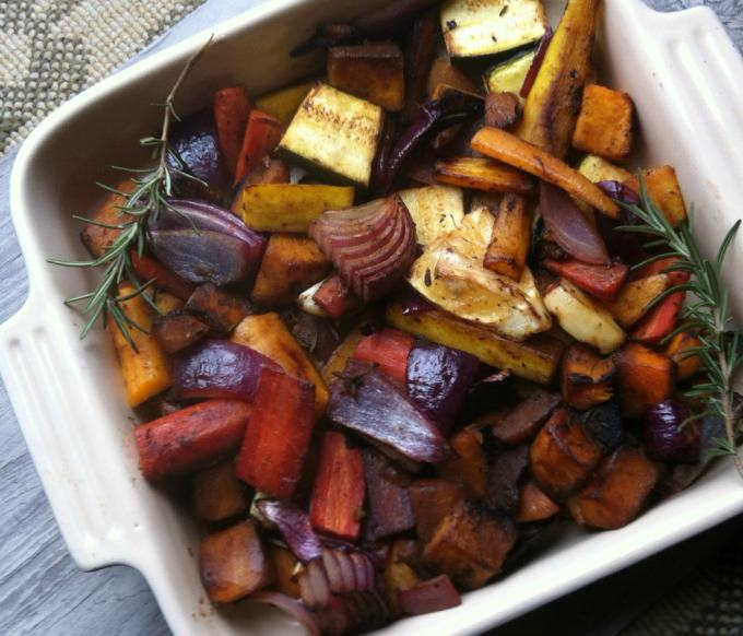 Rosemary and Lemon Roasted Vegetables recipe