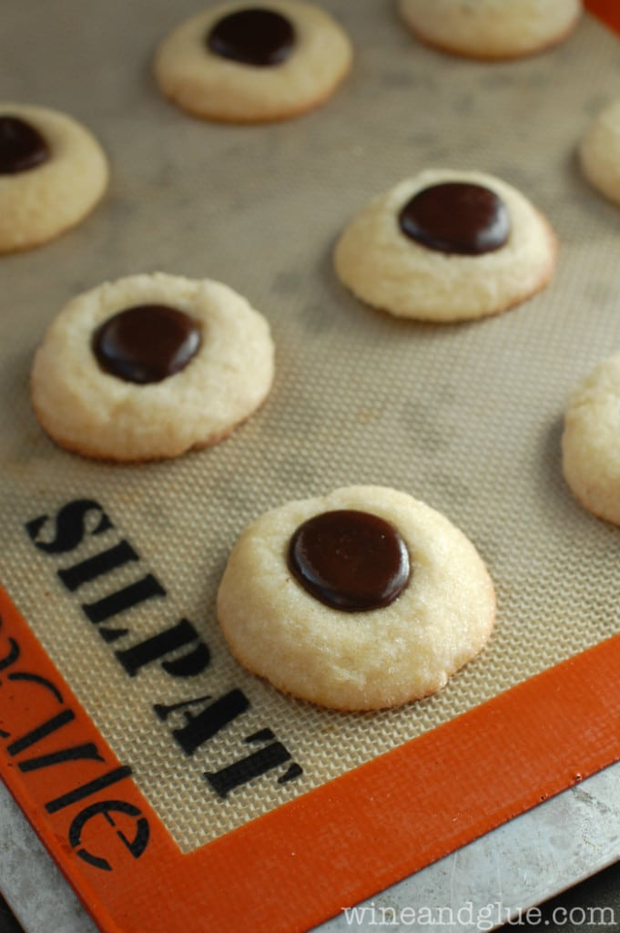 thumbprint cookies - 26 Delicious Holiday Treats