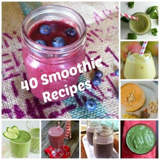 40 Delicious Smoothie Recipes