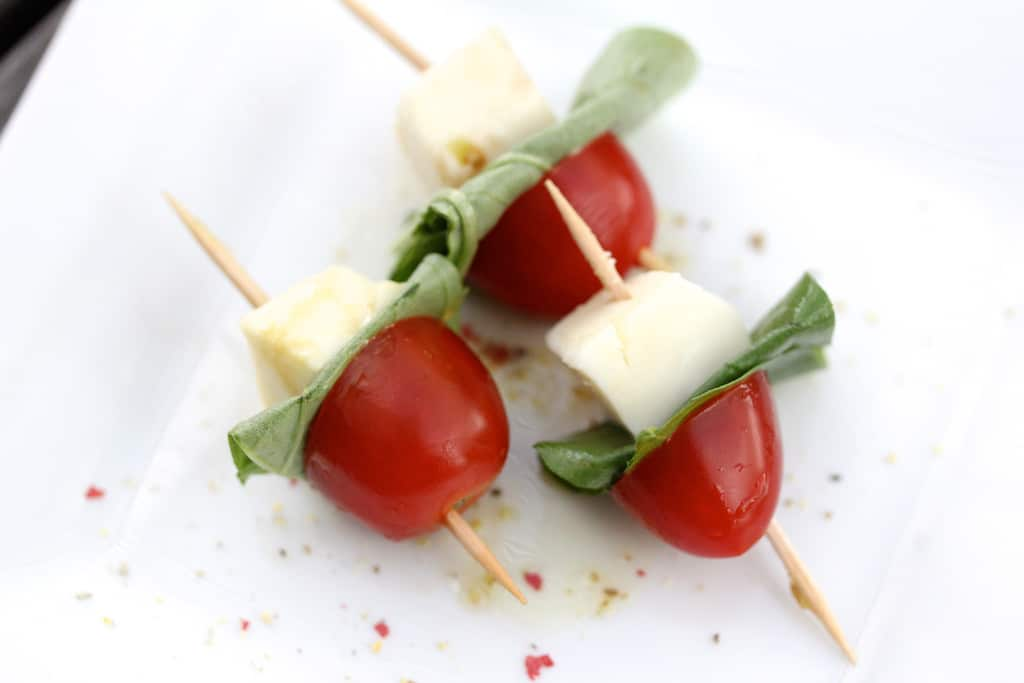 Caprese Salad Skewers Recipe — Dishmaps
