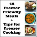 Freezer Friendly Cooking