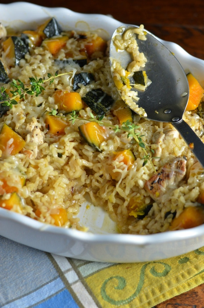 how to cook chicken risotto rice