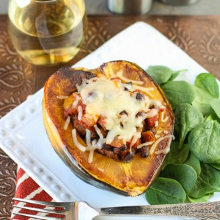 Mexican Stuffed Acorn Squash {Guest Post by Garnish with Lemon}