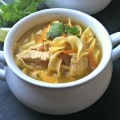 Sesame Ginger Chicken Noodle Soup