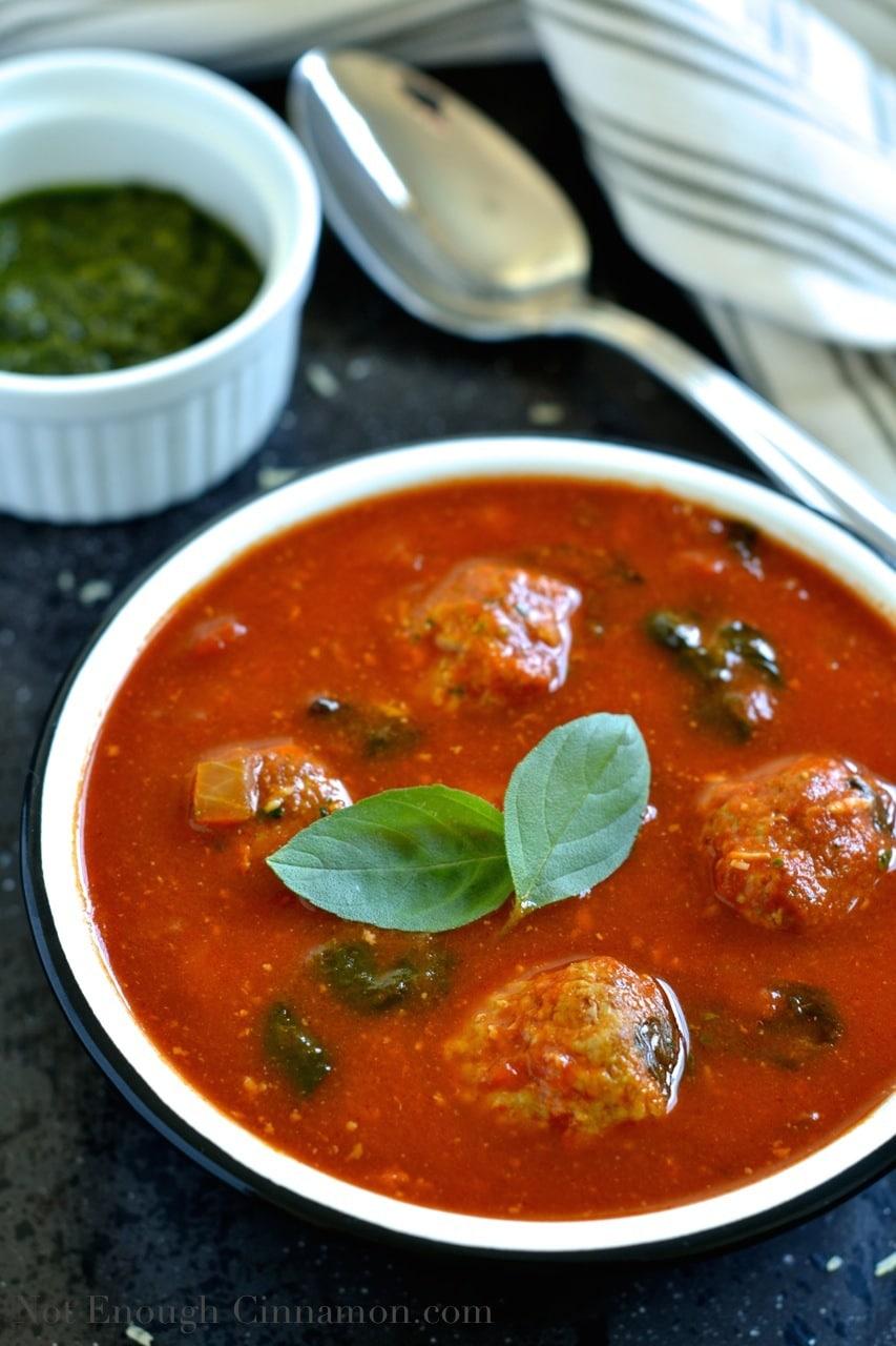 Italian Tomato Soup Italian Meatball Soup