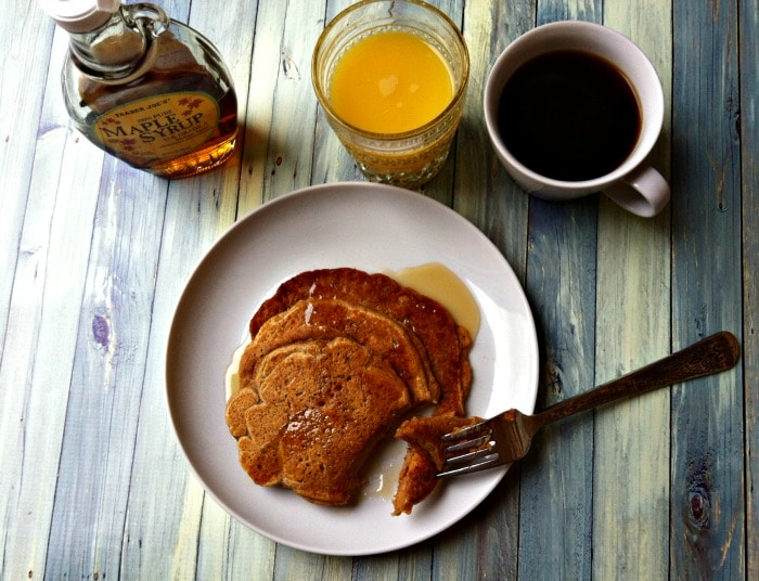 Sweet Potato Cinnamon Pancakes