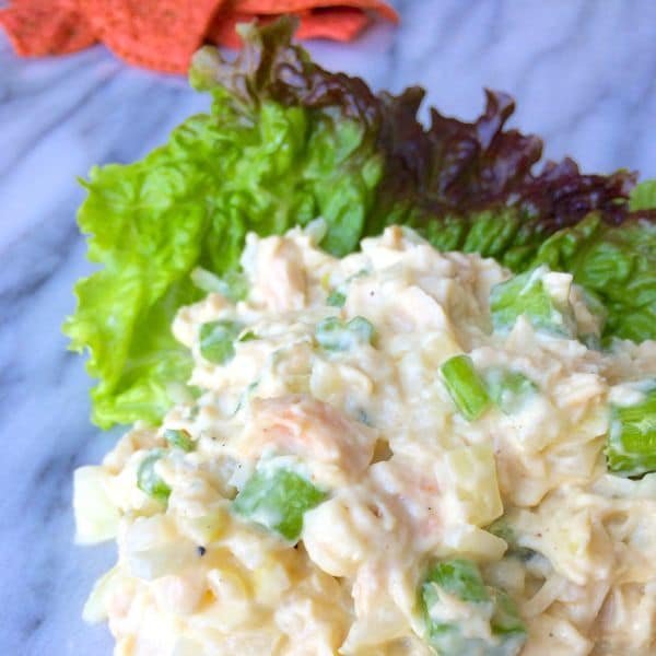 Lightened Chicken Salad by The Lemon Bowl