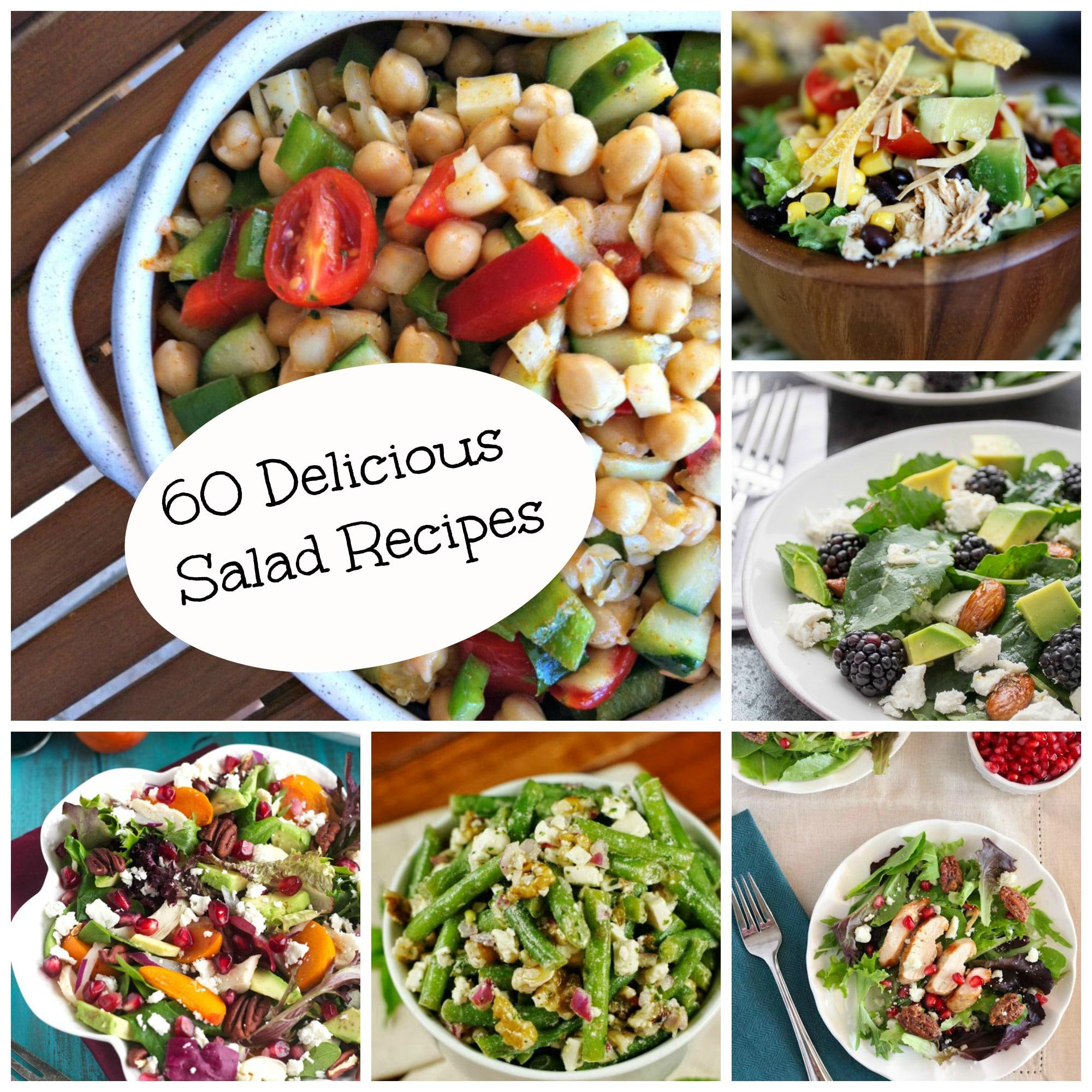 60 Delicious Salad Recipes