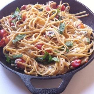 Caprese Pasta Skillet A Cedar Spoon 5