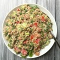 Vegetable Bulgar Salad with Mint Yogurt Dressing 3