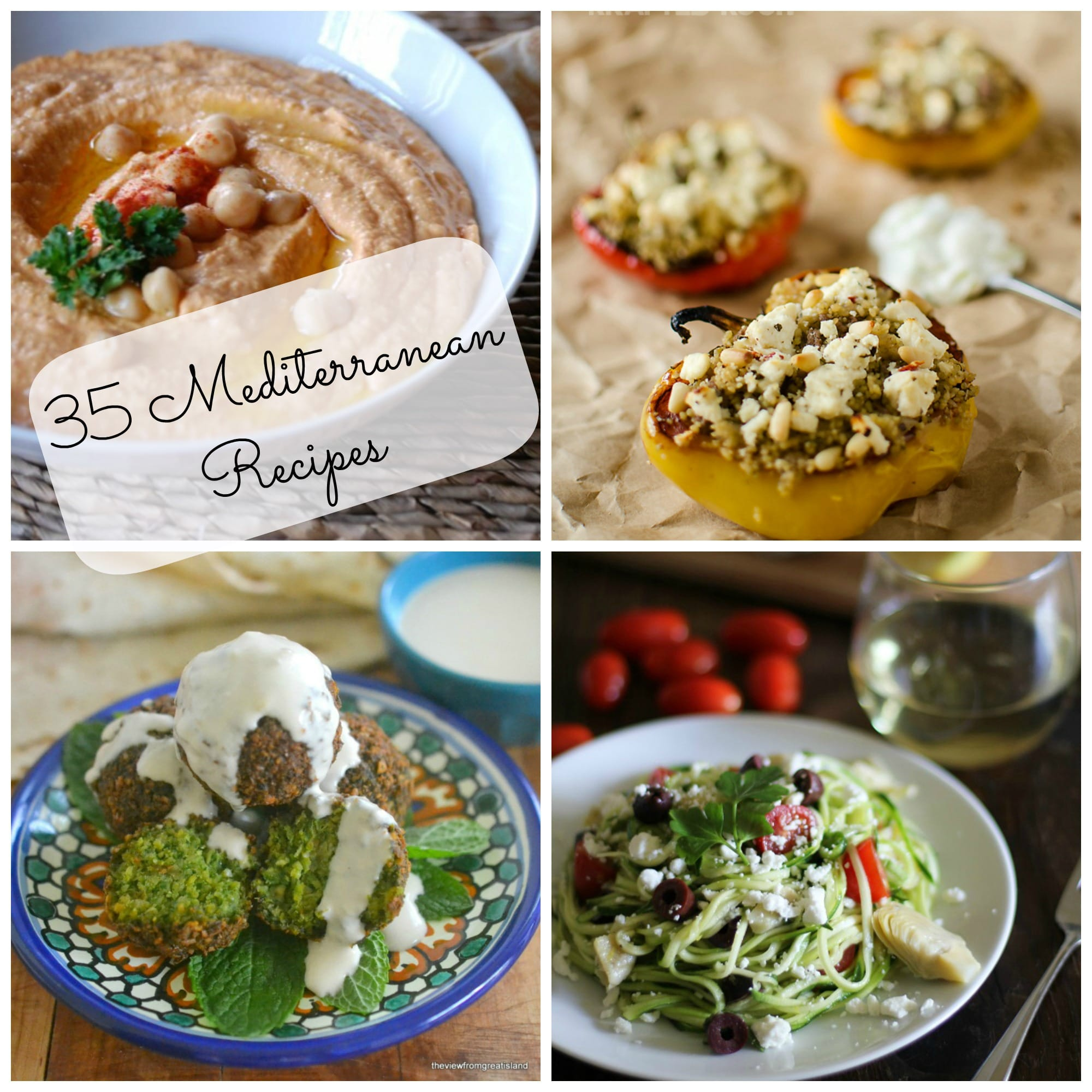 35 mediterranean recipes a cedar spoon for Mediterranean food menu