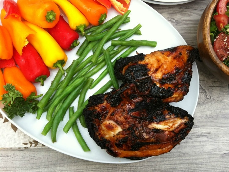 Spiced Honey Lime Grilled Chicken
